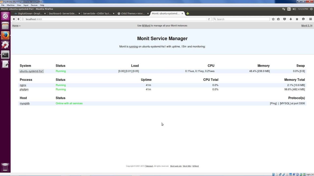Linux System Monitoring with Monit, part 2: SSH Local Forwarding for our  Web Dashboard