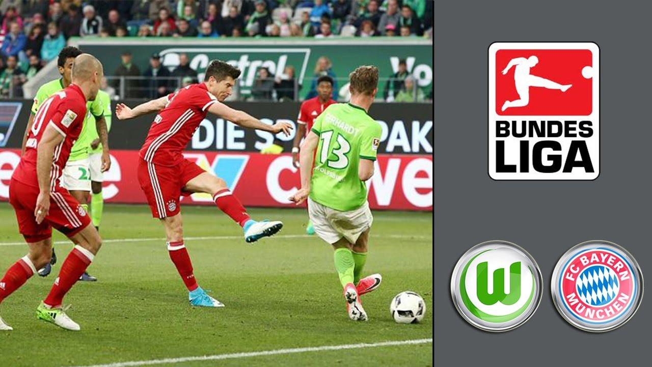 Fc Bayern Vs Vfl Wolfsburg
