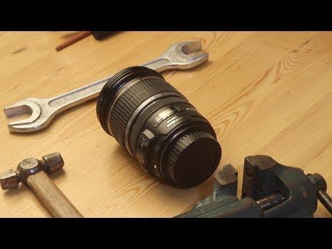 Ремонт объектива CANON 17-55 мм F2,8 USM