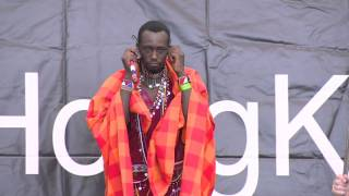 The Life in Maasai Tribal | Emmanuel Milia Mankura | TEDxHongKongLive