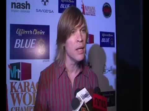 Luke Kenny at Officers Choice Blue Vh1 India Karaoke World Championship India   YouTube