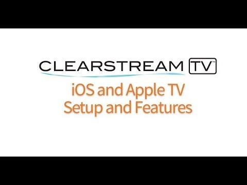 ClearStream TV Wireless Tuner Adapter - IOS And Apple TV Setup And Features
