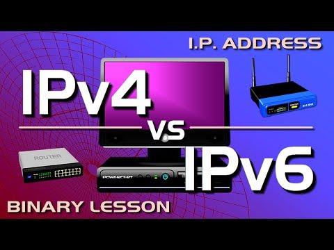 IP Address - IPv4 vs IPv6 Tutorial