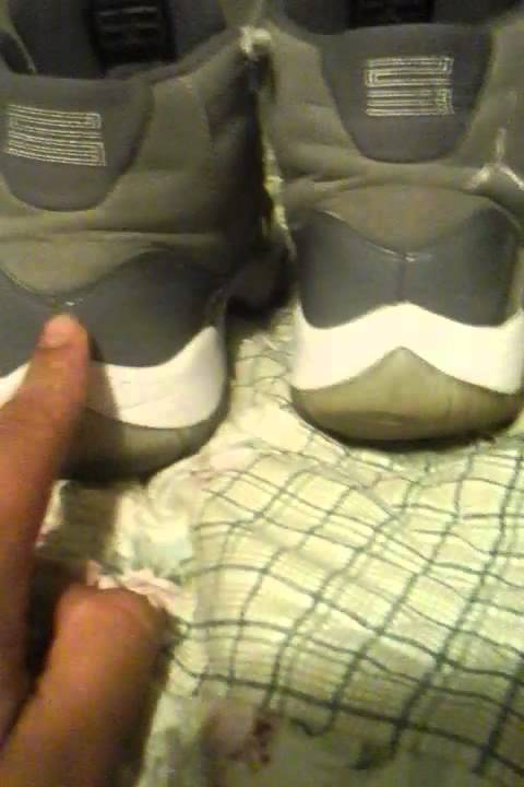 Cool grey 11 real vs fake