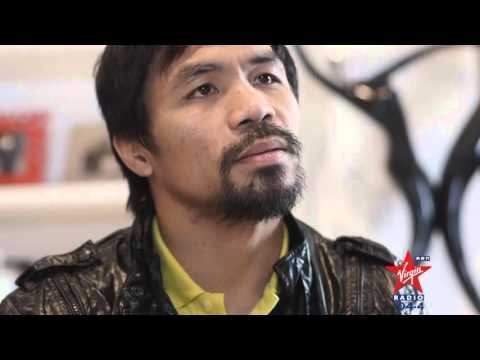 I sing to Manny Pacquiao in Tagalog