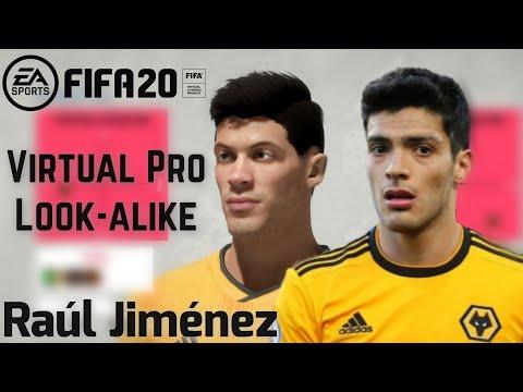 FIFA 20 |  RAUL JIMENEZ LOOK ALIKE | PRO CLUBS