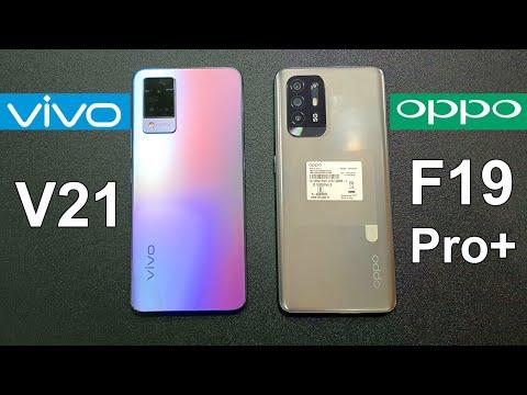 Vivo V21 5G Vs Oppo F19 Pro+ 5G Speed Test