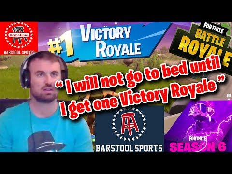Smitty Vs. Fortnite Season Six: Does Not Stop Streaming Until One Victory Royale