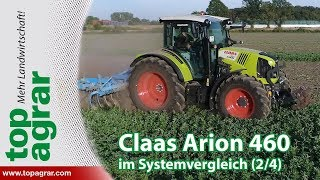 Claas Arion 460 - top agrar Schleppervergleichstest Teil 2/4