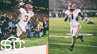 Georgia will face Alabama in the College Football Playoff title game | SportsCenter | ESPN