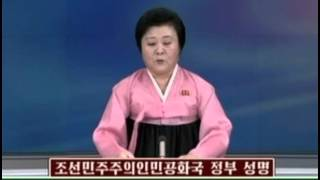 北朝鮮「水爆実験成功と発表」 KCTV(朝鮮中央TV)
