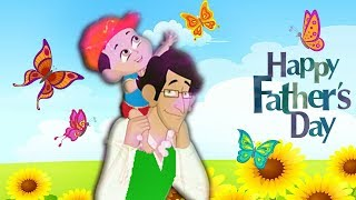 Kid Krrish Movie Cartoon | Happy Father's Day Story | Cartoon Movies For Kids | Videos For Kids