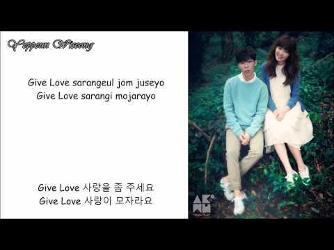 Give Love - AKMU (lyrics)