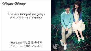 Give Love - AKMU (lyrics)