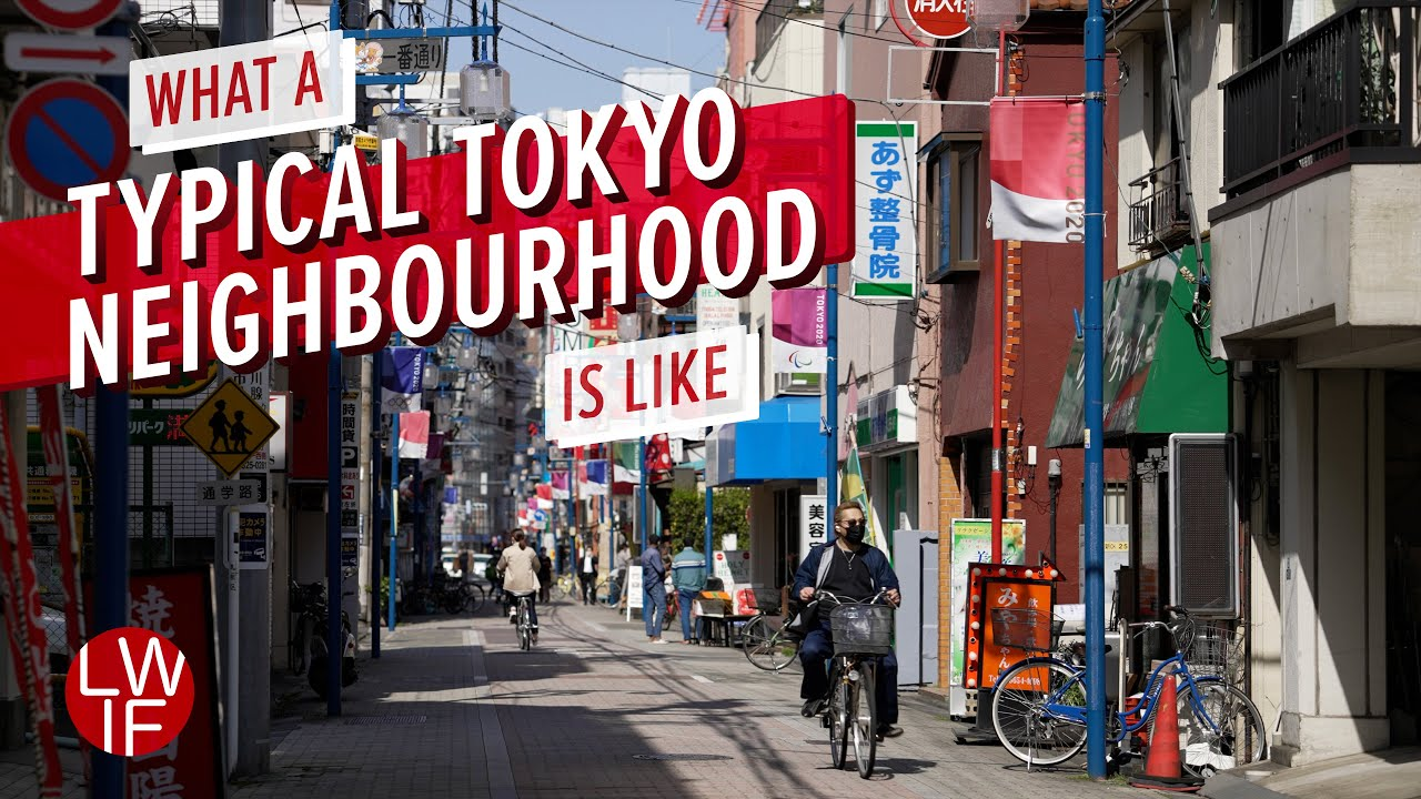 Download What a Typical Tokyo Neighbourhood is Like