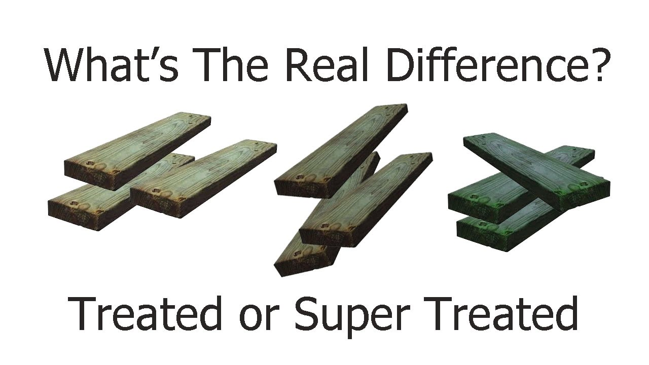 Is All Pressure Treated Lumber Created The Same? – Home Building and Repairs