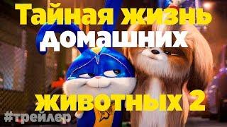 Тайная жизнь домашних животных 2  Русский трейлер 2019
