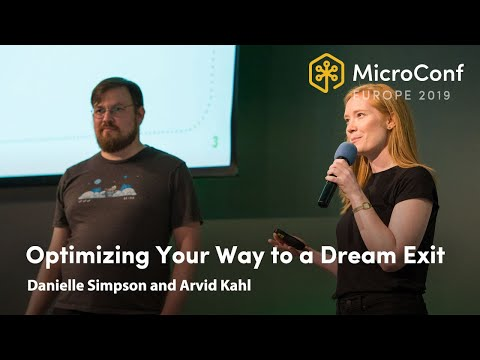 Download Optimizing Your Way to a Dream Exit – Danielle Simpson and Arvid Kahl – MicroConf Europe 2019