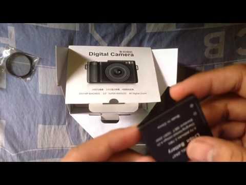 Unboxing dan review Amkov 24MP Digital Camera TFT 3,0 Flip LCD