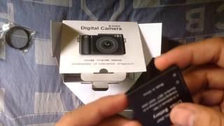 Video Unboxing dan review Amkov 24MP Digital Camera TFT 3,0 Flip LCD download MP3, 3GP, MP4, WEBM, AVI, FLV Agustus 2018