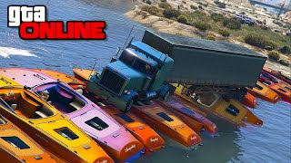 BOAT BRIDGE ANTICS PT. 2! || GTA 5 Online || PC
