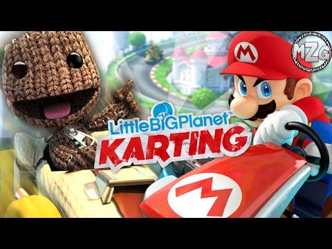 Mario Kart Levels!! - LittleBigPlanet Karting Gameplay - Community Levels
