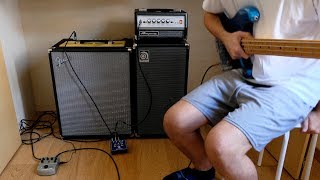 Fender Rumble 200 combo VS Ampeg Micro VR stack