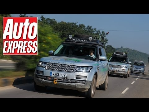 Range Rover Hybrid takes on India s craziest roads