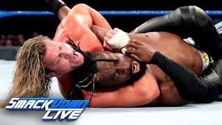 kofi kingston vs dolph ziggler 2 out of 3 falls match smackdown live