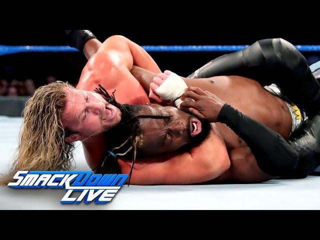 Kofi Kingston vs. Dolph Ziggler – 2-out-of-3 Falls Match: SmackDown LIVE