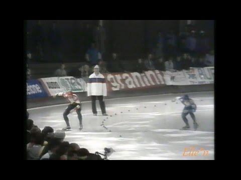 World Cup Berlin 1991 - 500 m Golubev - Mey