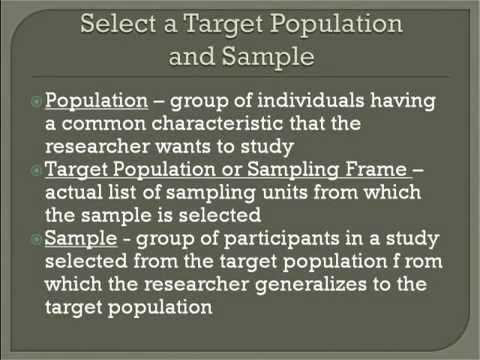 Survey Research part 1 - Intro to Survey Design