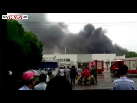 Factory Blast Kills Dozens In China's East