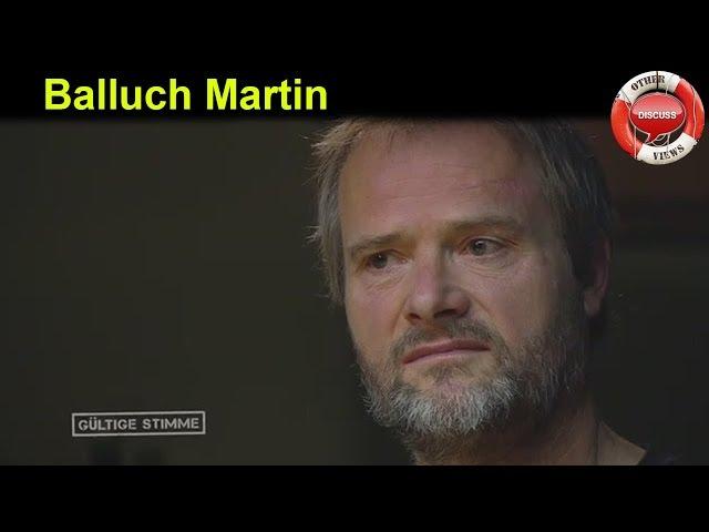 Tierschutz: Balluch Martin - talk mit: R. Düringer: