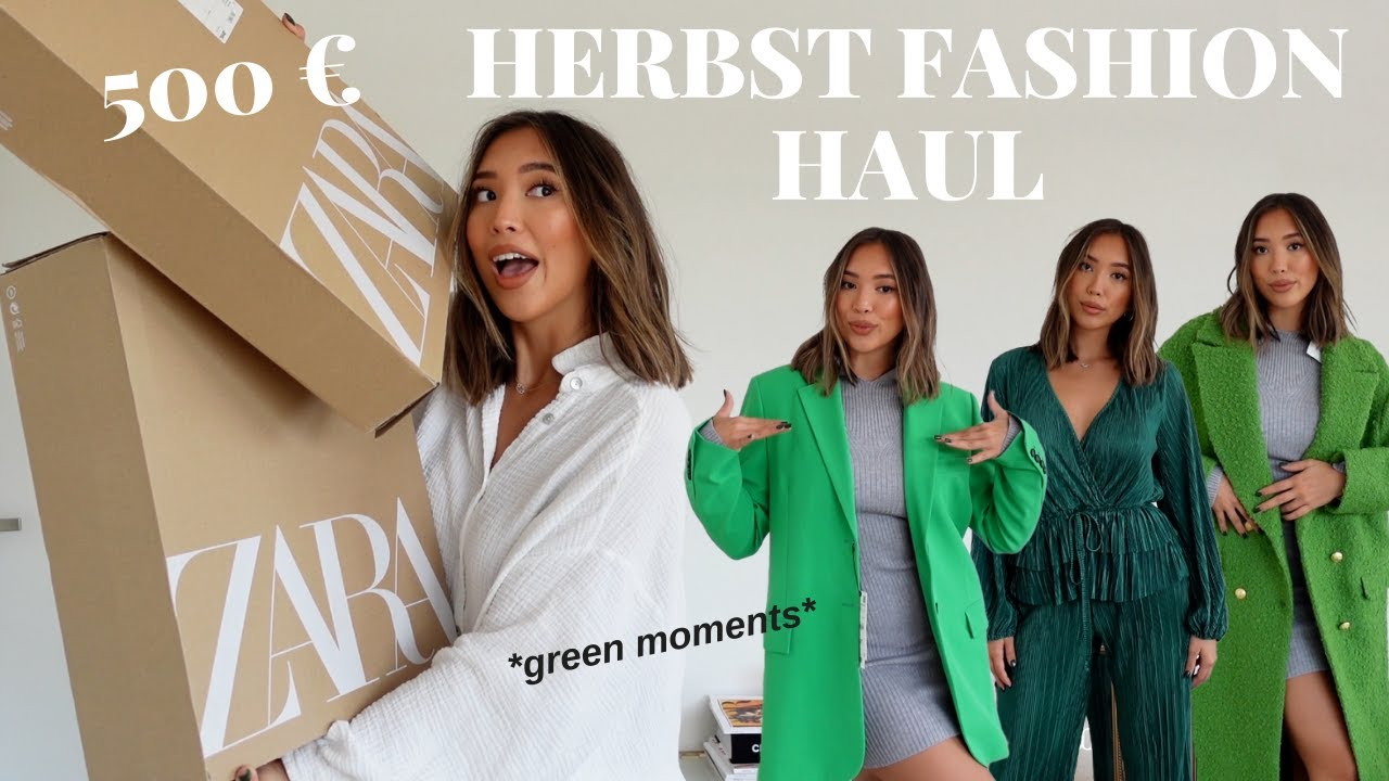 Download 500€ Zara Herbst Haul 2021 | Mein FALL MUST-HAVES | Adorable Caro