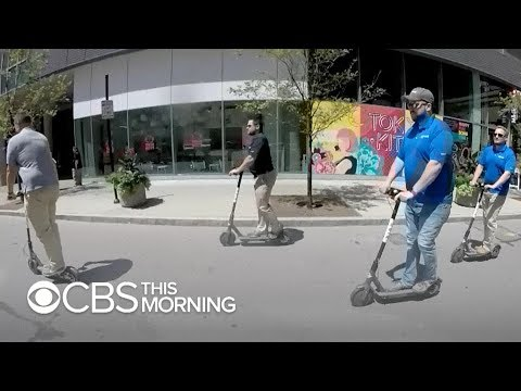 Rise of electric scooters also contributing to injuries