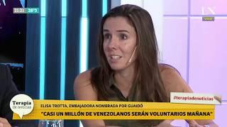 Qué pasa el Día D en Venezuela: Opina la representante de Guaidó, Elisa Trotta