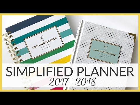 Planner Review | Simplified Planner | 2017-2018