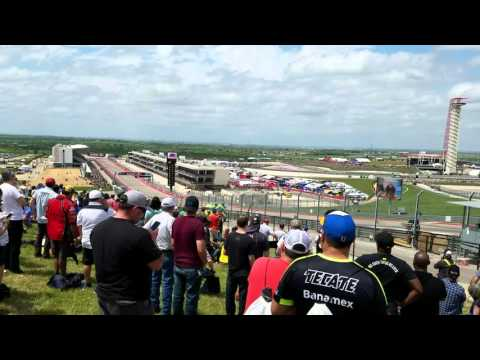 2016 MotoGP Circuit of the Americas full race from TURN 1