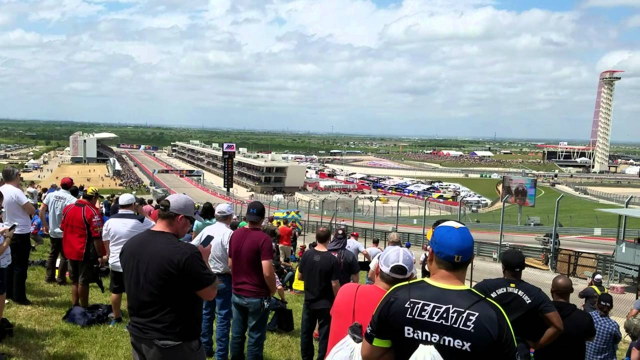 2016 MotoGP Circuit of the Americas full race from TURN 1 - YouTube