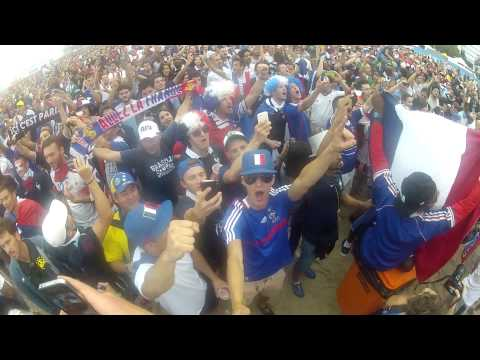 Jayz World Cup Inside - Suisse / France, Marseillaise. 5-2
