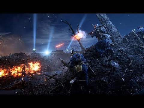 NEW MAP WHO DIS: Battlefield 1 Nivelle Nights Multiplayer Gameplay (PS4 Pro)