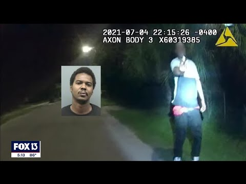 Download Body camera shows moment suspect pulls gun on Florida officer