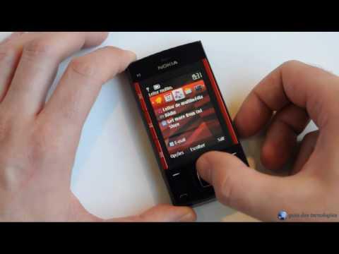 Nokia X3-00: Interface