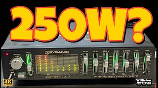 1980's Flea Market EQ Booster? Pyramid SE705CD Review and Amp Dyno Test