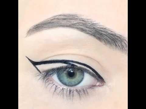 Maquiagens rápidas - Olho de gato passo a passo