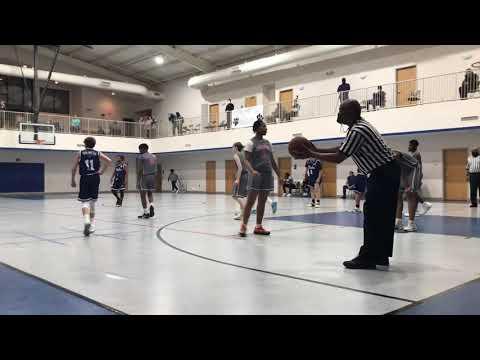 Covington Academy Bulldogs Basketball Game 1st Quarter