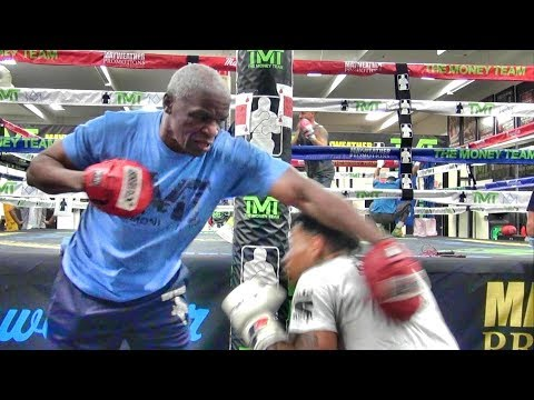 Dan Joyce - Floyd Mayweather SR Shows Off Some Crazy Hand Speed