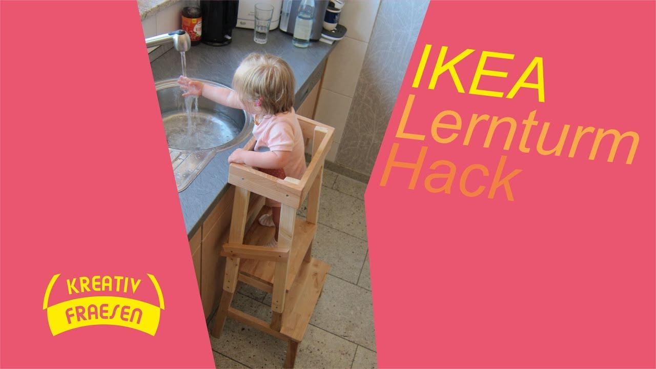 Hack Ikea Hack Lernturm Youtube Youtube Ikea Lernturm