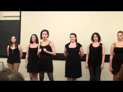 Cellblock Tango in sign language